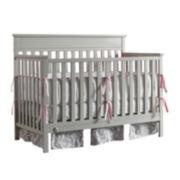 Fisher-Price Newbury Convertible Crib - Misty Grey