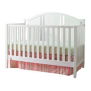 Fisher-Price Caitlin Snow-White Convertible Crib