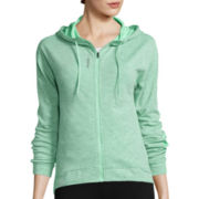 Reebok® Work Out Ready Zip Hooded Jacket