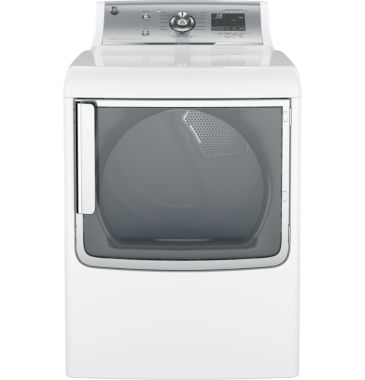 jcpenney.com | GE® ENERGY STAR® 7.8 cu. ft. Capacity Gas Dryer With Stainless Steel Drum And Steam