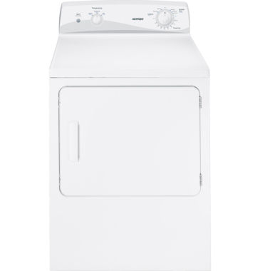 jcpenney.com | Hotpoint® 6.0 cu. ft. Capacity Dura Drum Gas Dryer