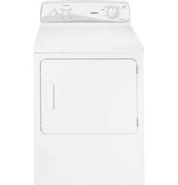 jcpenney.com | Hotpoint® 6.8 cu. ft. Capacity Dura Drum Electric Dryer