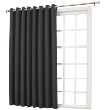 jcpenney.com | Sun Zero™ Emory Room-Darkening Grommet-Top Patio Panel