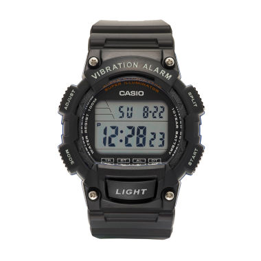 jcpenney.com | Casio Table Mens Black Strap Watch-W736h-2av
