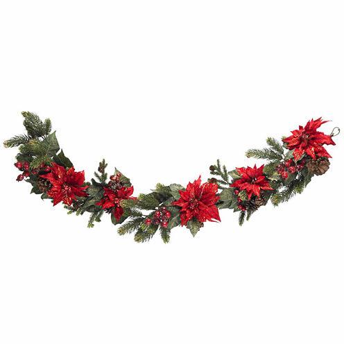 """22"""" Indoor/Outdoor Christmas Wreath"""