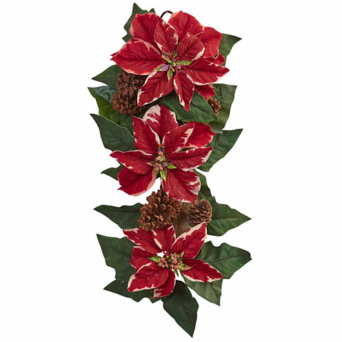 Nearly Natural 54in Christmas Garland
