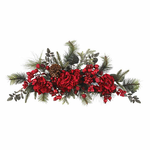 Nearly Natural 60in Christmas Garland