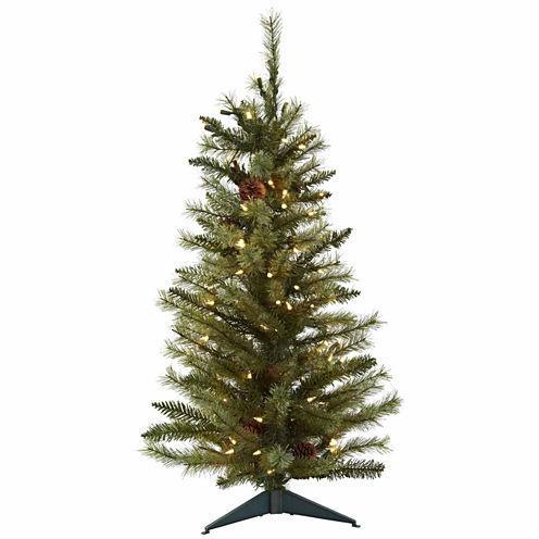 3' Prelit Christmas Tree