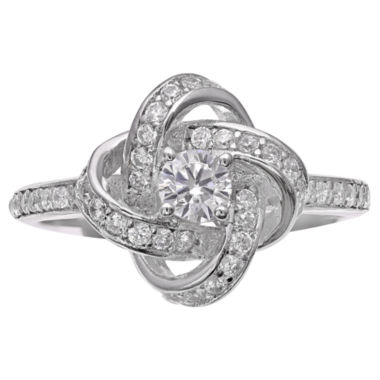 jcpenney.com | Silver Treasures White Cubic Zirconia Cocktail Ring