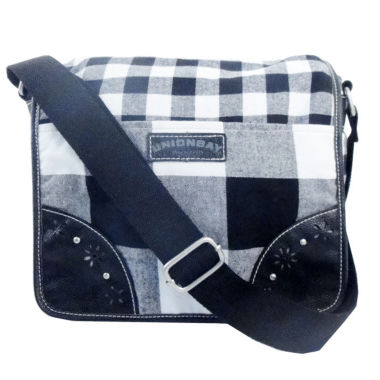 jcpenney.com | Union Bay Buffalo Check Plaid Messenger Bag