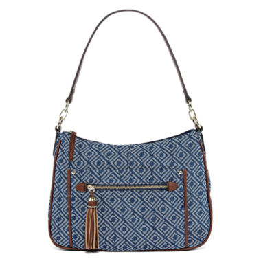 jcpenney.com | Liz Claiborne Julie Top Zip Shoulder Bag