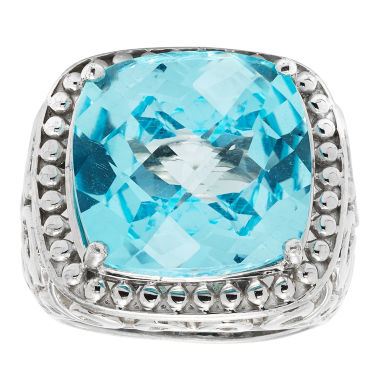 jcpenney.com | Womens Blue Topaz Sterling Silver Cocktail Ring
