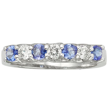 jcpenney.com | Womens 1/3 CT. T.W. Purple Tanzanite 14K Gold Band