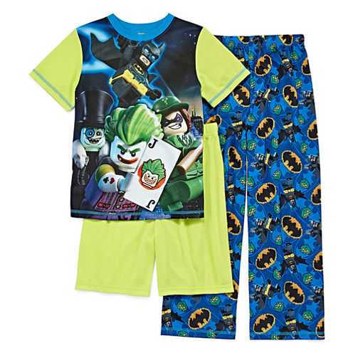 3-pc. DC Comics Kids Pajama Set Boys