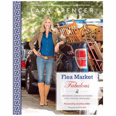 jcpenney.com | Flea Market Fabulous: Designing Gorgeous Rooms with Vintage Treasures by Laura Spencer