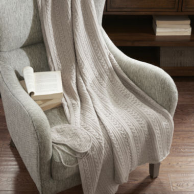 jcpenney.com | Madison Park Signature Cashmere Bld Travel Set Throw