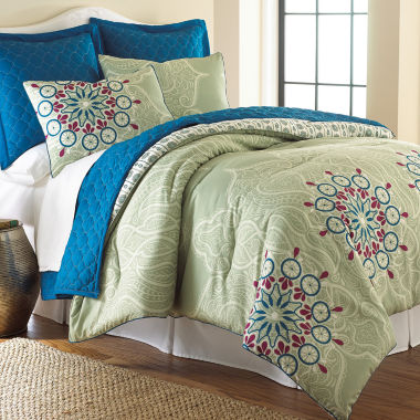 jcpenney.com | Pacific Coast Textiles Zarine 6-pc. Reversible Comforter Set