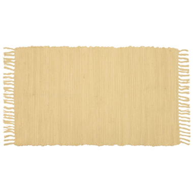 jcpenney.com | Agra Solid Washable Cotton Rectangular Rug