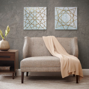 jcpenney.com | Madison Park Arctic Geometric 2-pc. Canvas Art