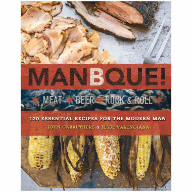 "jcpenney.com | Manbque ""Meat, Beer, Rock & Roll"" Cookbook"