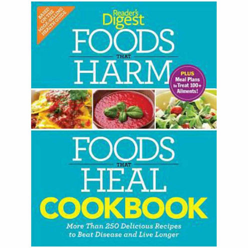 "Cookbook on ""Foods That Harm & Foods That Heal"""