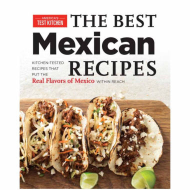 "jcpenney.com | America's Test Kitchen ""The Best Mexican Recipes"""