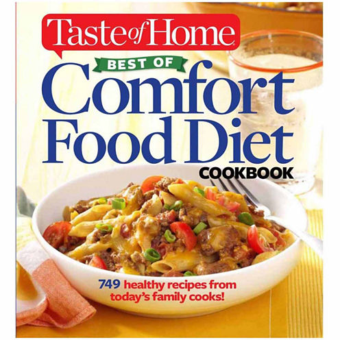 "The Taste of Home ""Best of Comfort Food Diet Cookbook"""