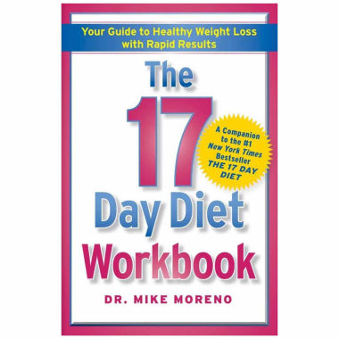 jcpenney.com | The 17 Day Diet Workbook: Your Guide to Healthy Weight Loss with Rapid Results