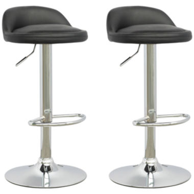 jcpenney.com | Low Profile Adjustable Bar Stools, Set of 2