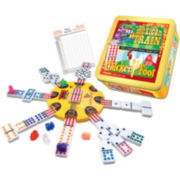 Mexican Train or Chickenfoot Combo Board Game