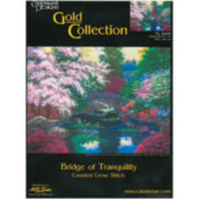 Bridge Of Tranquility Counted Cross Stitch Kit