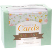Box of 40 Patterned Cards with Envelopes