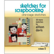 Scrapbook Generation - One-Page Sketches for Scrapbooking Vol 2