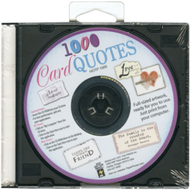 jcpenney.com | Card Quotes CD - 1,000 Quotes