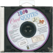 Card Quotes CD - 1,000 Quotes