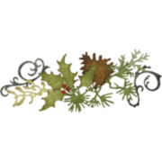 Sizzix® Sizzlits™ Decorative Strip Die, Festive Greenery