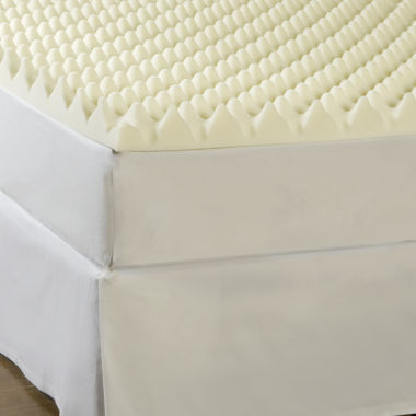 "jcpenney.com | Comforpedic from Beautyrest® Memory Loft 4"" Foam Mattress Topper"