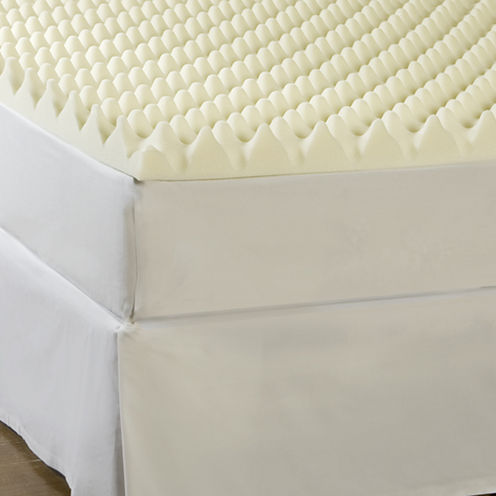 "Comforpedic from Beautyrest® Memory Loft 4"" Foam Mattress Topper"