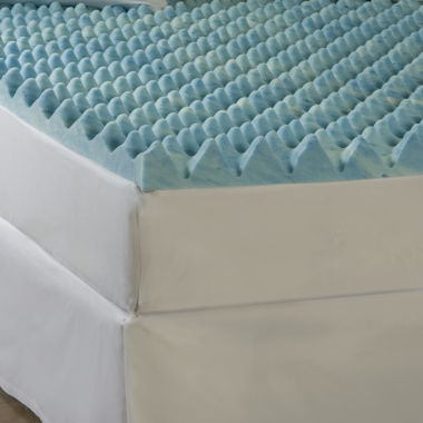 "jcpenney.com | Comforpedic from Beautyrest® Gel Memory Loft 4 "" Foam Mattress Topper"
