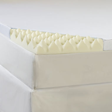 "jcpenney.com | Comforpedic from Beautyrest® Memory Loft 3"" Foam Mattress Topper With Cover"