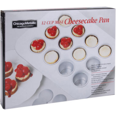 jcpenney.com | Chicago™ Metallic 12-Cup Mini Cheesecake or Cupcake Pan