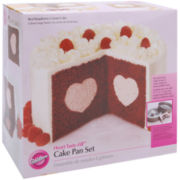 Wilton® Heart Tasty-Fill™ Cake Pan Set