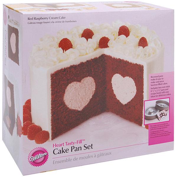 Wilton Heart Tasty Fill Cake Pan Set Instructions