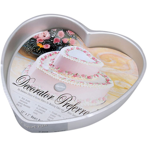 Wilton® Decorator Preferred Heart-Shaped Cake Pan