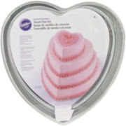 Wilton® Decorator Preferred Heart Cake Pan Set