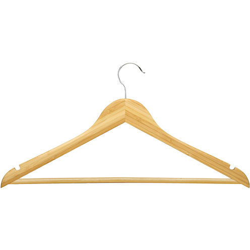 Honey-Can-Do® 8-Pack Wood Suit Hangers