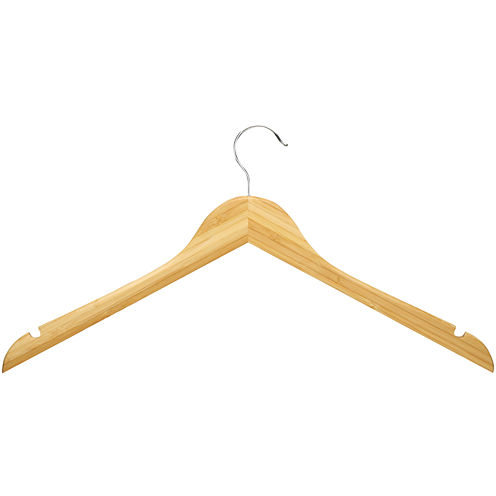 Honey-Can-Do® 10-Pack Wood Shirt Hangers