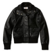 Joe Fresh™ Faux-Leather Jacket - Girls 4-14