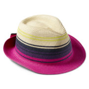 Joe Fresh™ Striped Fedora – Girls 6-14