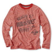 Arizona Long-Sleeve Heathered Graphic Tee - Boys 6-18